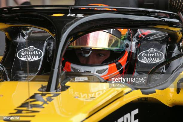 Jack Aitken, team Renault, during the Formula 1 testing at the Barcelona Catalunya Circuit, on 16th May 2018 in Barcelona, Spain. Photo: Joan...