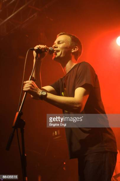 Jack Allsop of Just Jack performs on stage at Electric Ballroom on June 11 2009 in London England