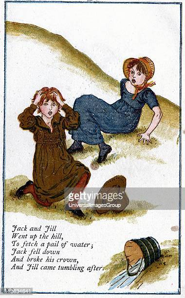 Jack And Jill Went Up The Hill Stock