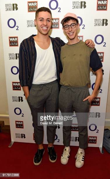 Jack and Joel joined a host of famous faces at the first of the War Child BRITs Week together with O2 gigs to support children affected by conflict...