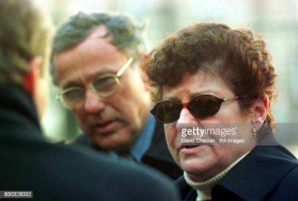Jack and Kathleen Flynn from New York arriving at Edinburgh High Court where they are suing the terrorists who blew up the Pan Am flight 103 which...