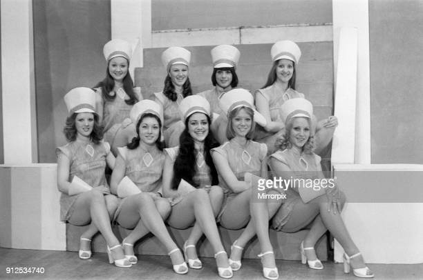 Jack and the Beanstalk Pantomime Photocall Grand Theatre Wolverhampton 18th December 1975 The Chorus Line