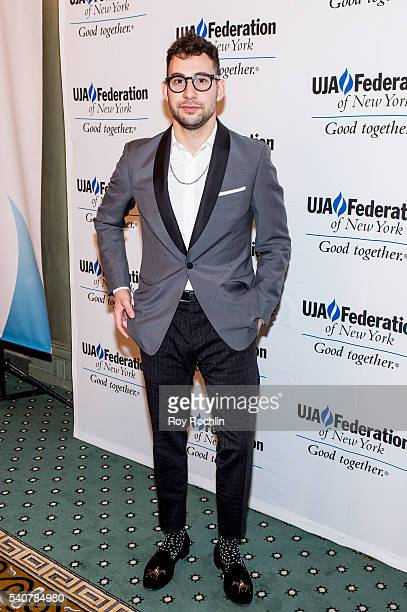 Jack Antonoff attends the 2016 UJAFederation of New York's Music Visionary of The Year Award Luncheon at The Pierre Hotel on June 16 2016 in New York...