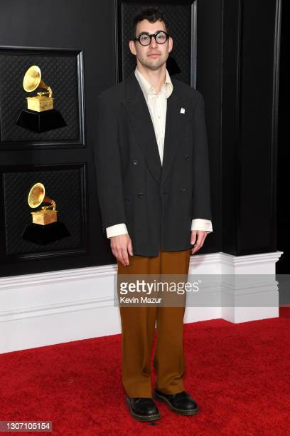 Jack Antonoff attends the 63rd Annual GRAMMY Awards at Los Angeles Convention Center on March 14, 2021 in Los Angeles, California.