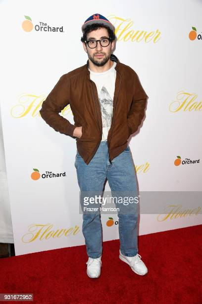 Jack Antonoff attends the premiere of The Orchard's 'Flower' at ArcLight Cinemas on March 13 2018 in Hollywood California