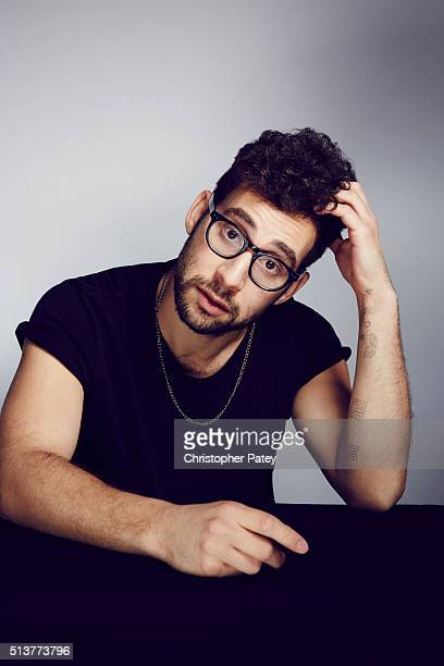 Jack Antonoff is photographed for The Hollywood Reporter on December 9 2015 in Los Angeles California Published Image