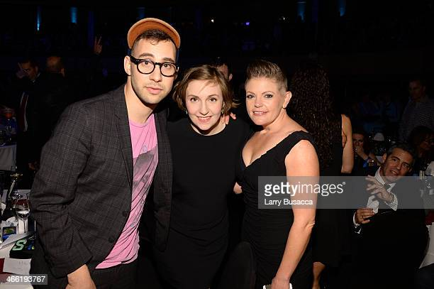 "Jack Antonoff, Lena Dunham and Natalie Maines attend ""Howard Stern's Birthday Bash"" presented by SiriusXM, produced by Howard Stern Productions at..."