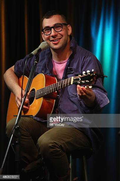 Jack Antonoff of Bleachers performs at Radio 1045 Performance Theater March 25 2014 in Bala Cynwyd Pennsylvania