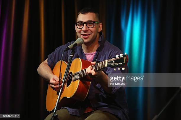 Jack Antonoff of Bleachers performs at Radio 104.5 Performance Theater March 25, 2014 in Bala Cynwyd, Pennsylvania.