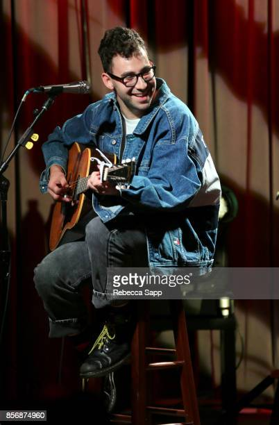 Jack Antonoff of Bleachers performs at The Drop Bleachers at The GRAMMY Museum on October 2 2017 in Los Angeles California