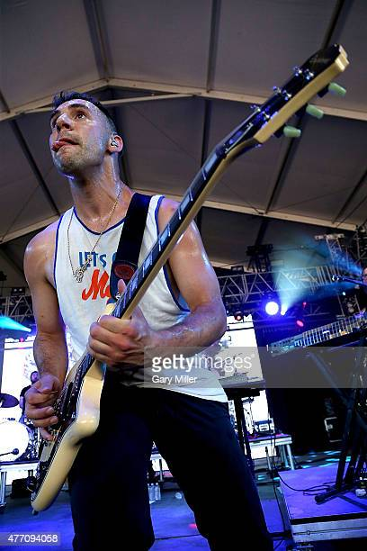 Jack Antonoff of Bleachers performs during day 3 of the Bonnaroo Music & Arts Festival on June 13, 2015 in Manchester, Tennessee.