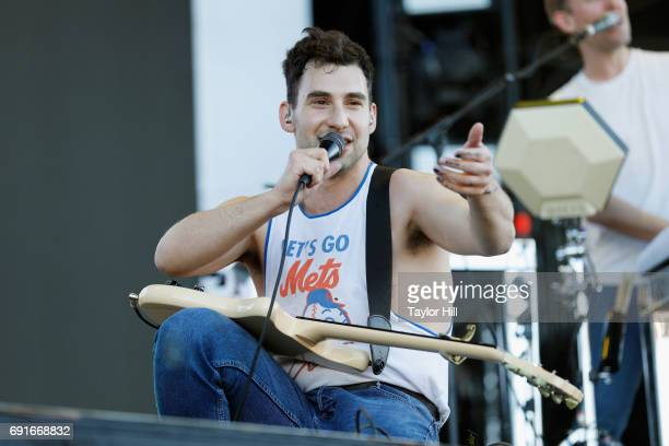 Jack Antonoff of Bleachers performs live during 2017 Governors Ball Music Festival - Day 1 at Randall's Island on June 2, 2017 in New York City.