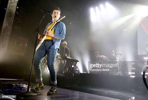 Jack Antonoff of Bleachers performs onstage during MTV Presents 'VMA Weekend' at Avalon on August 25 2017 in Hollywood California