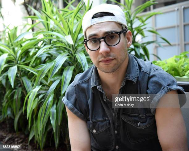 Jack Antonoff of Bleachers poses for portraits before his performance at Shaky Knees Music Festival at Centennial Olympic Park on May 14 2017 in...