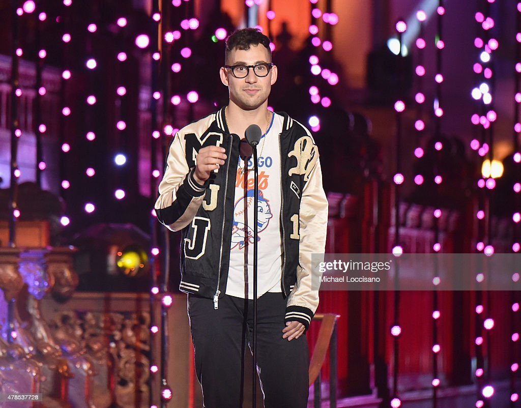 Jack Antonoff of Bleachers speaks onstage at Logo's 'Trailblazer Honors' 2015 at the Cathedral of St. John the Divine on June 25, 2015 in New York City.