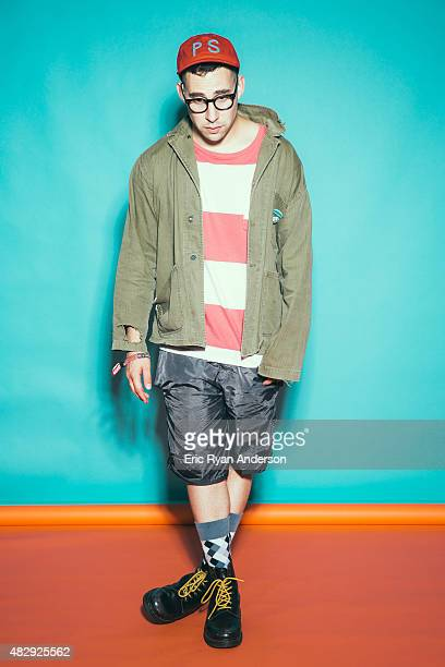 Jack Antonoff of Fun. And Bleachers is photographed for Billboard Magazine on June 11, 2015 in New York City.