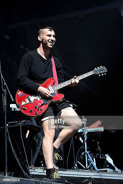 Jack Antonoff performs in concert with Bleachers on day 1 of the first weekend of the Austin City Limits Music Festival at Zilker Park on October 3,...