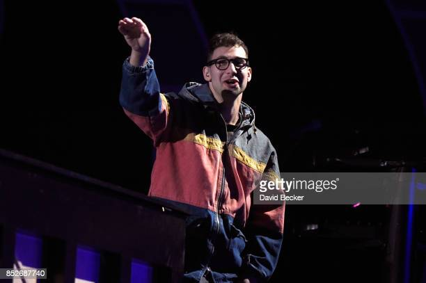 Jack Antonoff performs onstage during the 2017 iHeartRadio Music Festival at T-Mobile Arena on September 23, 2017 in Las Vegas, Nevada.
