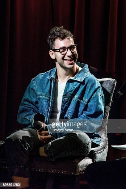 Jack Antonoff speaks during The Drop Bleachers at The GRAMMY Museum on October 2 2017 in Los Angeles California