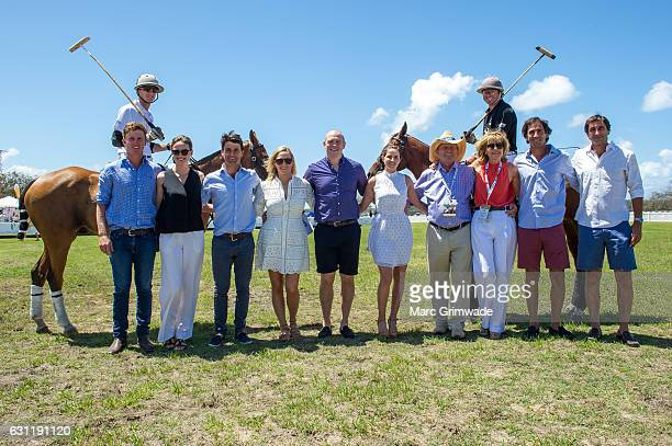 Jack Archibald, Francesca Cumani, Rob Archibald, Zara Phillips, Mike Tindall, Michelle Payne, Gerry Harvey, Katie Page-Harvey, Alejandro Astrada and...