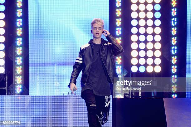 Jack Avery of Why Don't We performs onstage during 1035 KISS FM's Jingle Ball 2017 at Allstate Arena on December 13 2017 in Rosemont Illinois