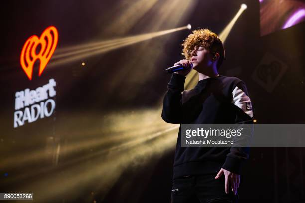 Jack Avery of Why Don't We performs onstage during KISS 108's Jingle Ball 2017 presented by Capital One at TD Garden on December 10 2017 in Boston...