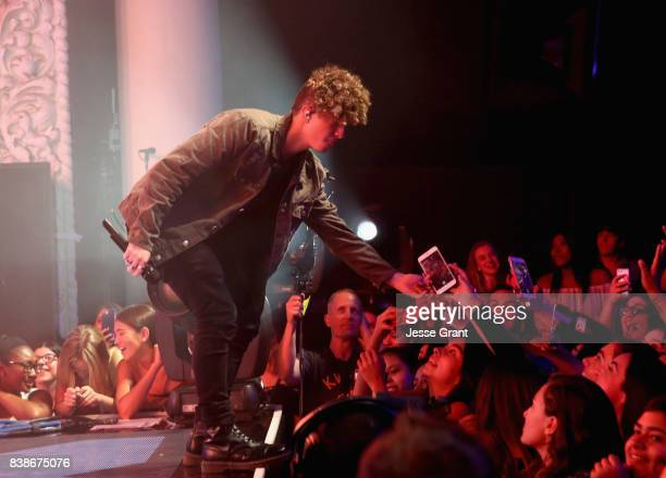 Jack Avery of Why Don't We performs onstage during MTV Presents 'VMA Weekend' at Avalon on August 24 2017 in Hollywood California