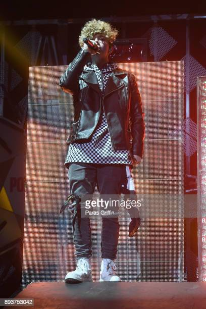 Jack Avery of Why Don't We performs onstage during Power 961's Jingle Ball 2017 Presented by Capital One at Philips Arena on December 15 2017 in...