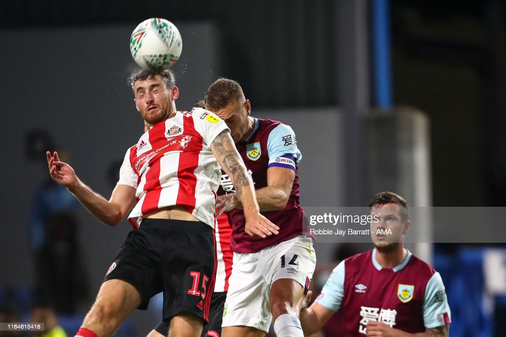 Burnley v Sunderland - Carabao Cup Second Round : News Photo