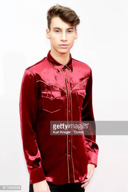 Jack Baran arrives at the 2016 American Music Awards at the Microsoft Theater on November 20 2016 in Los Angeles California EDITORS NOTE Image has...