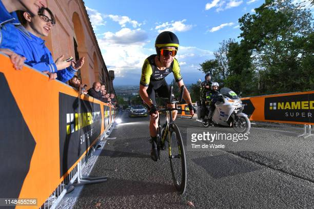 Jack Bauer of New Zealand and Team Mitchelton Scott / during the 102nd Giro d'Italia 2019 Stage 1 a 8km Individual Time Trial from Bologna to San...