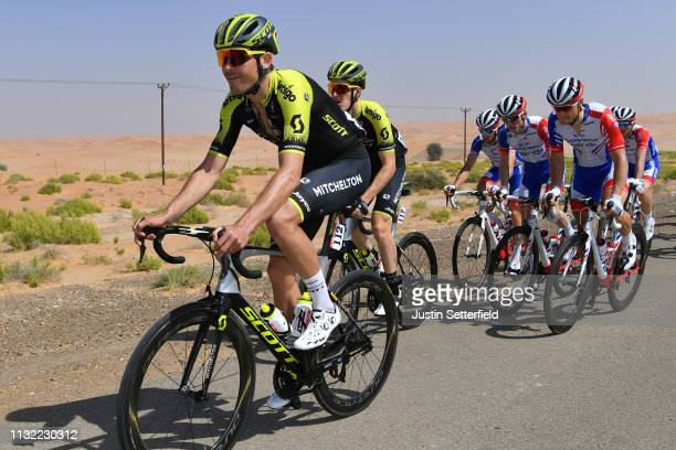 Jack Bauer of New Zealand and Team MitcheltonScott / during the 5th UAE Tour 2019 Stage 3 a 179km stage from Al Ain to Jebel Hafeet 1024m / #UAETour...