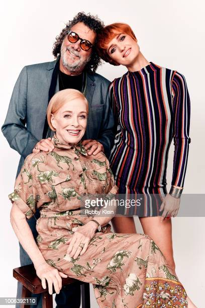 Jack Bender Holland Taylor and Breeda Wool of ATT's 'Mr Mercedes' pose for a portrait during the 2018 Summer Television Critics Association Press...