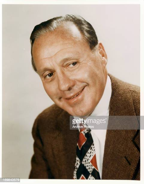 Jack Benny in publicity portrait for the television series 'The Jack Benny Program' Circa 1960