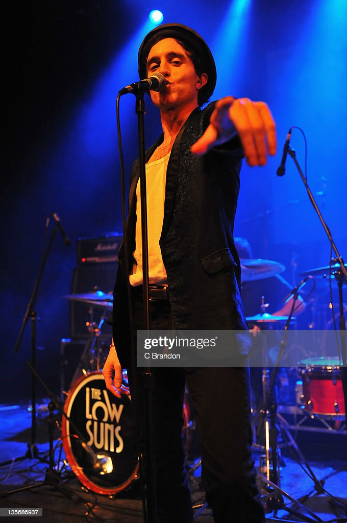 Jack Berkley of The Low Suns performs on stage at Shepherds Bush Empire on December 12, 2011 in London, United Kingdom.