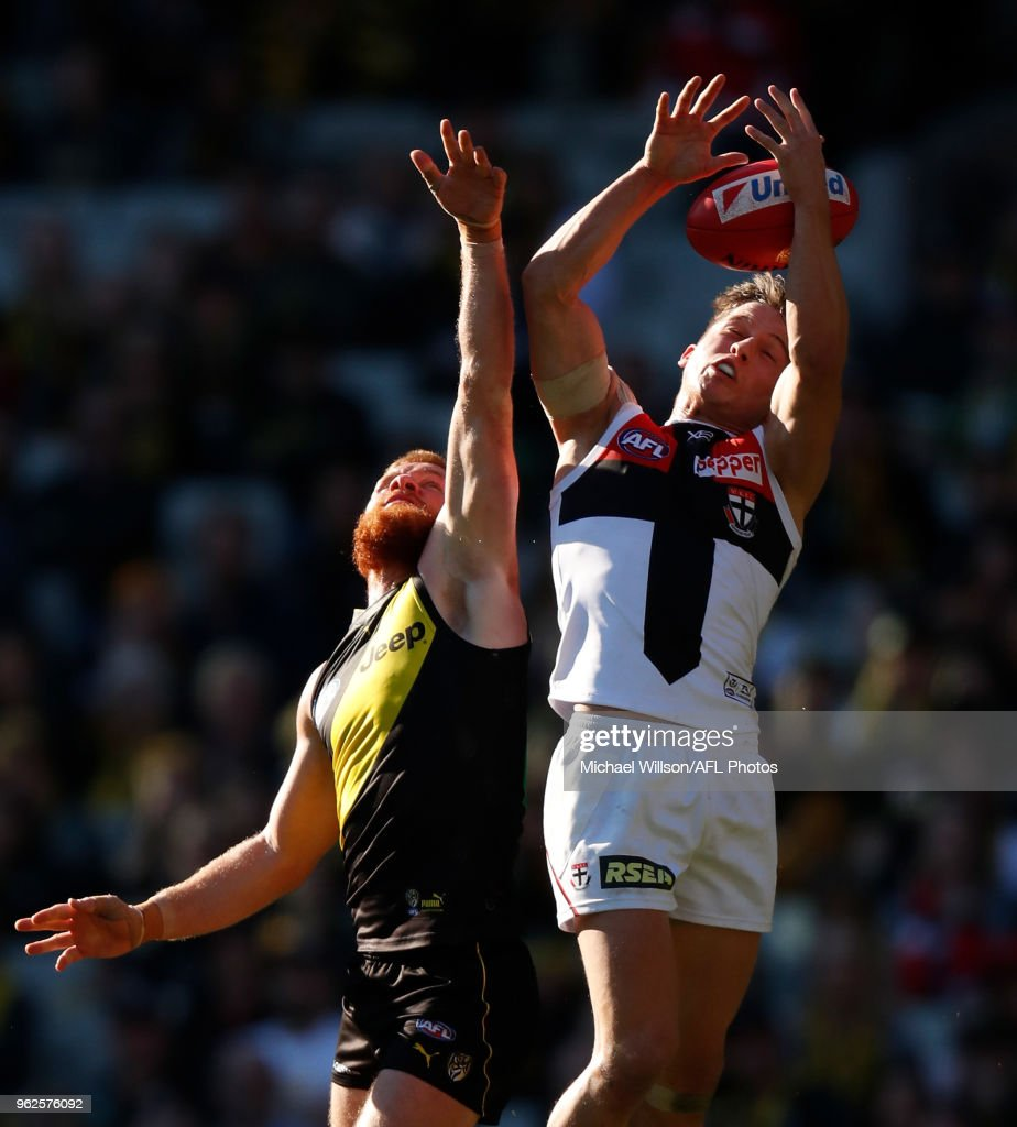 AFL Rd 10 - Richmond v St Kilda : News Photo