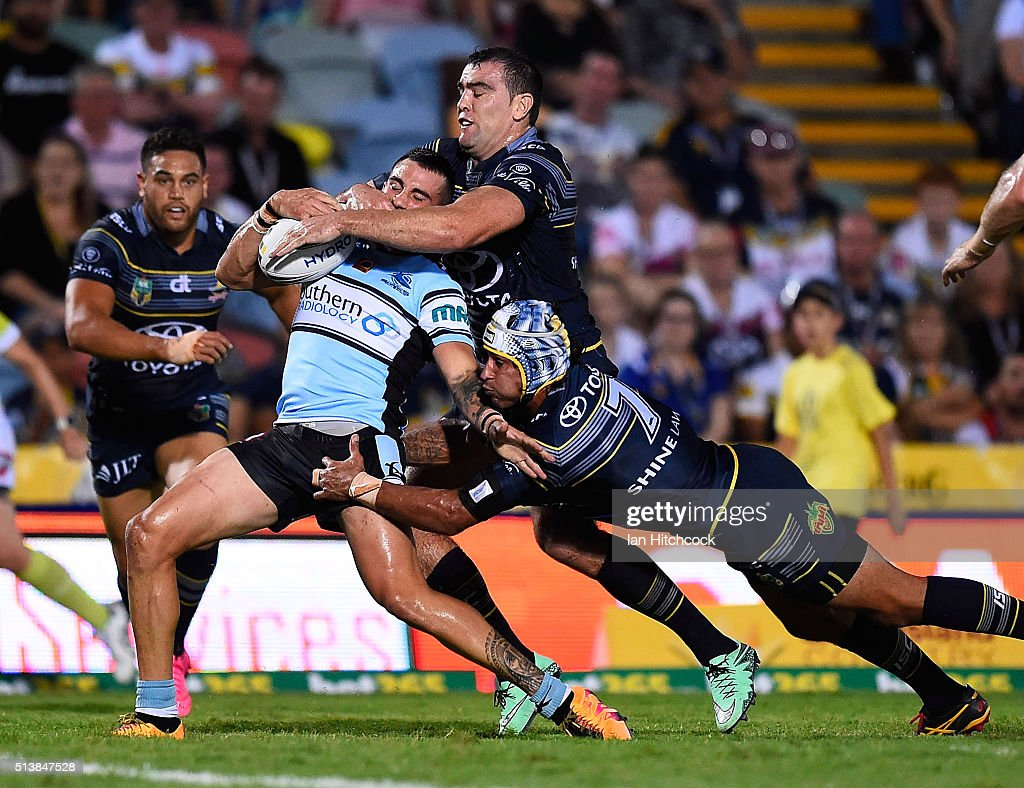 NRL Rd 1 - Cowboys v Sharks