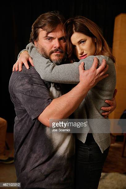 Jack Black and Kathryn Hahn attend The Variety Studio At Sundance Presented By Dockers Day 1 on January 24 2015 in Park City Utah