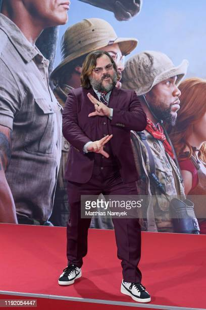 Jack Black at the Berlin premiere of JUMANJI THE NEXT LEVEL at Sony Center on December 04 2019 in Berlin Germany