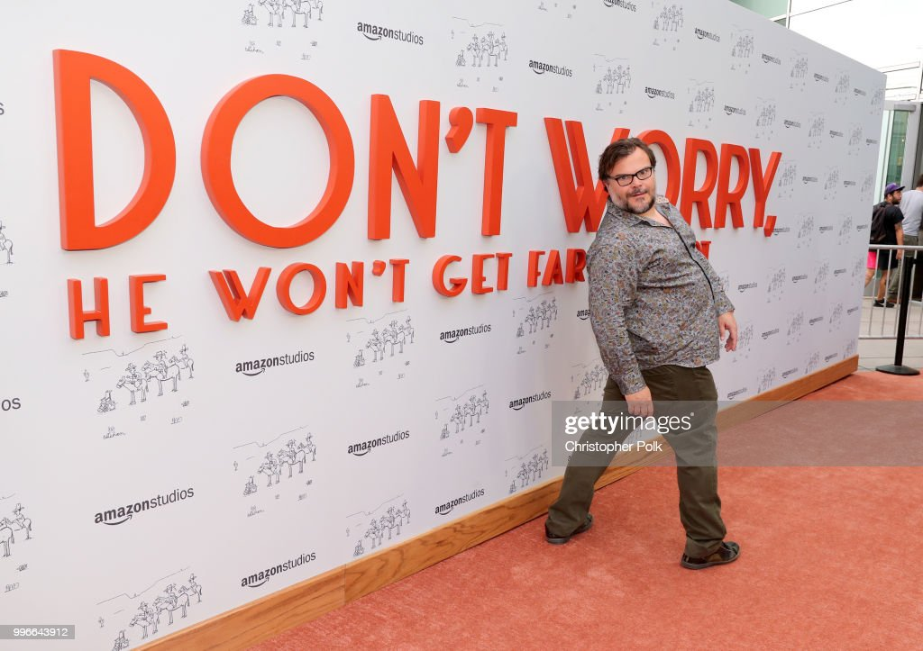 Jack Black attends Amazon Studios premiere of 'Don't Worry, He Wont Get Far On Foot' at ArcLight Hollywood on July 11, 2018 in Hollywood, California.