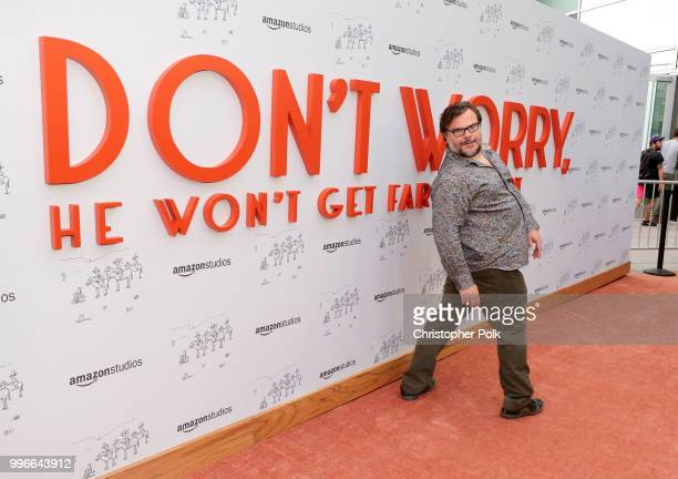 Jack Black attends Amazon Studios premiere of 'Don't Worry He Wont Get Far On Foot' at ArcLight Hollywood on July 11 2018 in Hollywood California
