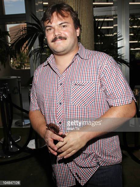 Jack Black attends Education Creativity And California's Future forum at Grand Hall at the Dorothy Chandler Pavililon on September 29 2010 in Los...