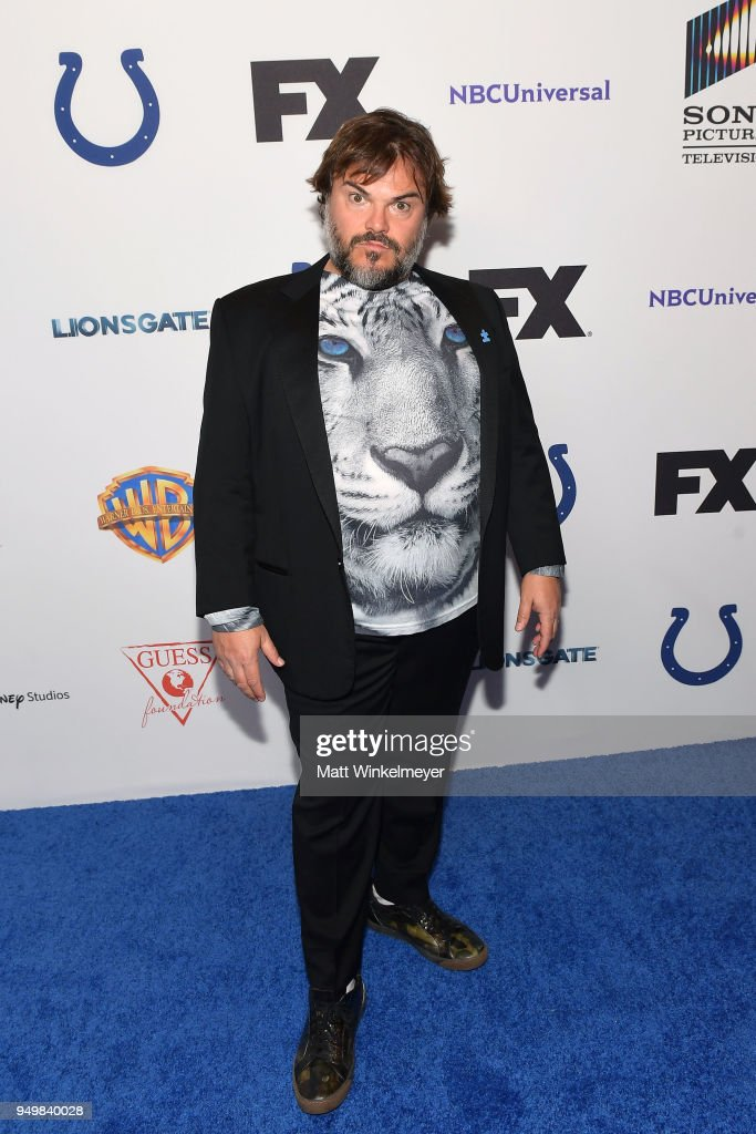Jack Black attends the 5th Annual Light Up the Blues Concert an Evening of Music to Benefit Autism Speaks at Dolby Theatre on April 21, 2018 in Hollywood, California.