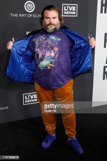 Jack Black attends The Art of Elysium's 13th Annual Heaven Gala at Hollywood Palladium on January 04, 2020 in Los Angeles, California.