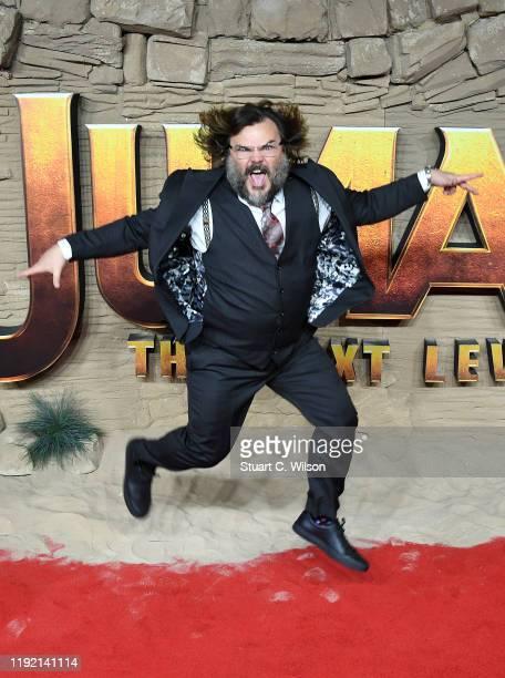 "Jack Black attends the ""Jumanji: The Next Level"" UK Film Premiere at BFI Southbank on December 05, 2019 in London, England."