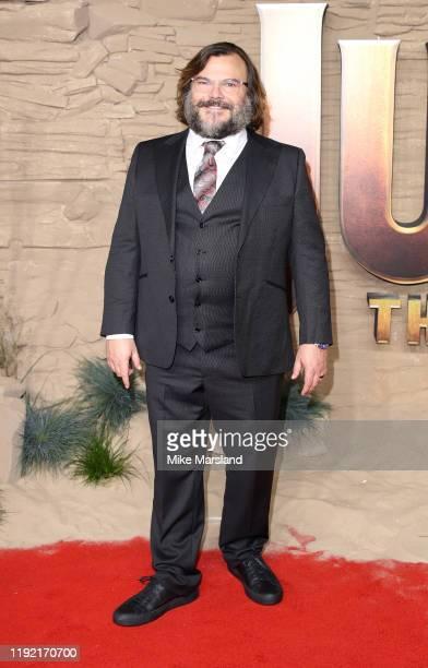 Jack Black attends the Jumanji The Next Level UK Film Premiere at BFI Southbank on December 05 2019 in London England