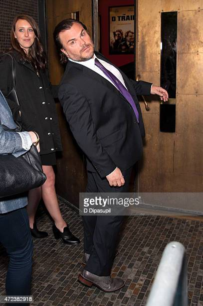 "Jack Black attends the New York premiere of ""The D Train"" at Landmark Sunshine Cinema on May 6, 2015 in New York City."
