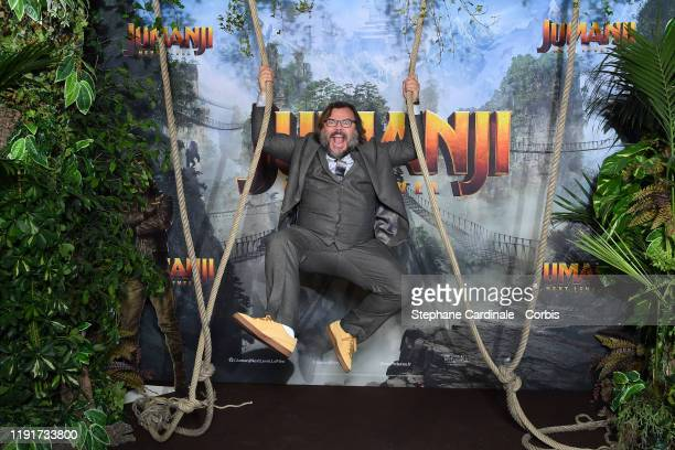Jack Black attends the photocall of the Jumanji Next Level film at le Grand Rex on December 03 2019 in Paris France
