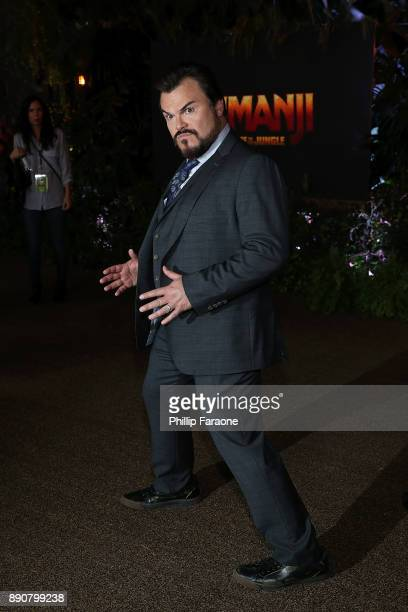 Jack Black attends the premiere of Columbia Pictures' Jumanji Welcome To The Jungle on December 11 2017 in Hollywood California