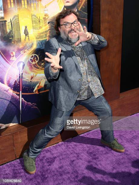 Jack Black attends the premiere of Universal Pictures' The House with a Clock in Its Walls at TCL Chinese Theatre IMAX on September 16 2018 in...